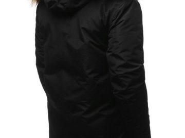 zimowa kurtka z ciepłym kapturem
